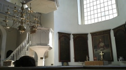 Old North Church, altar and pulpit, Boston