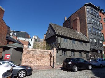 Paul Revere's House, Boston (street view)