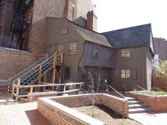Paul Revere's House, Boston (garden view)