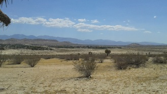 View across the Antelope Valley