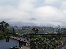 Fog on the Santa Inez Mountains