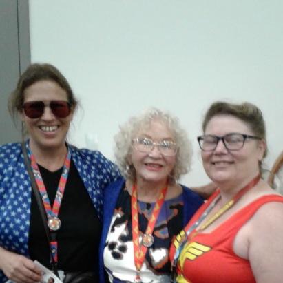 Christy Marston, Trina Robbins, Me