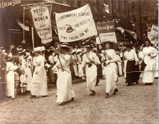 Women's Sufferage March