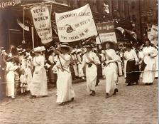 Women's Sufferage March