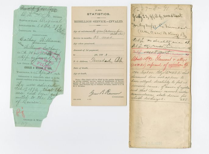 Cathay Williams - Pension Application